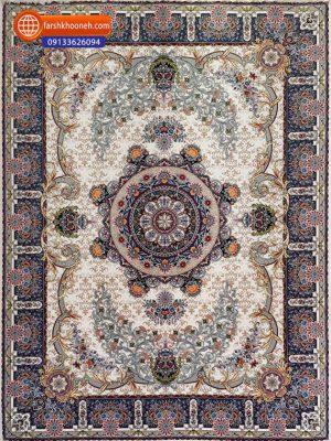 فرش ماشینی 1000شانه طرح مهرآفرین
