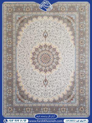 فرش ماشینی 1200 شانه طرح آرال