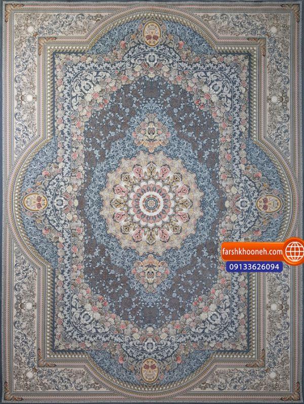 فرش ماشینی 1500 شانه طرح گیشا