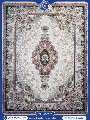 فرش ماشینی 700 شانه طرح سواران