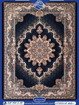 فرش ماشینی 500 شانه طرح نیلا