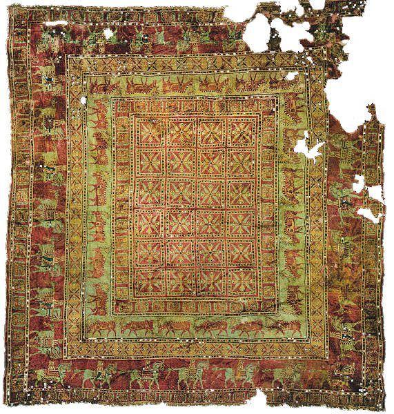 فرش پازیریک قدیمی ترین فرش جهان