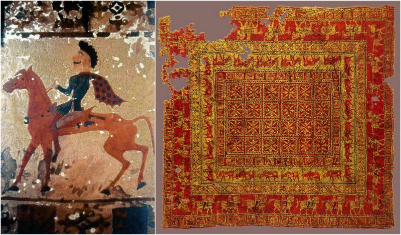 تاریخچه قدیمی ترین فرش جهان