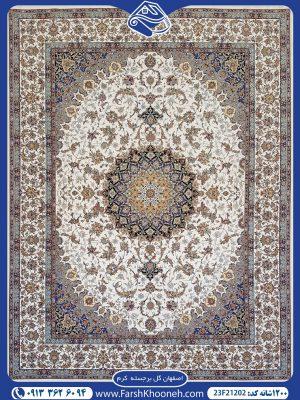 فرش ماشینی 1200 شانه طرح اصفهان