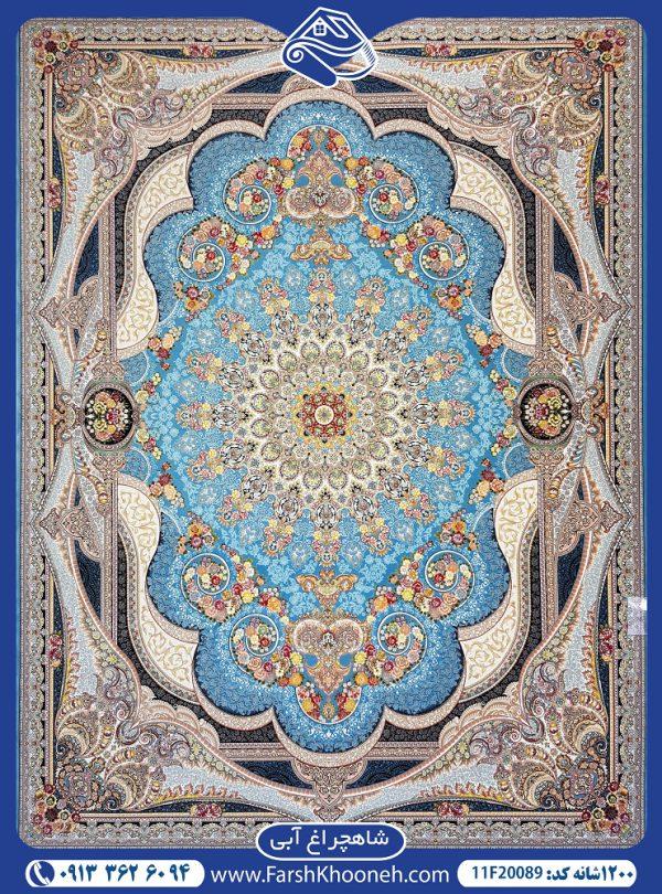 44F20089-CARPET-1200-REEDS-SHAHCHERAGH-KASHAN
