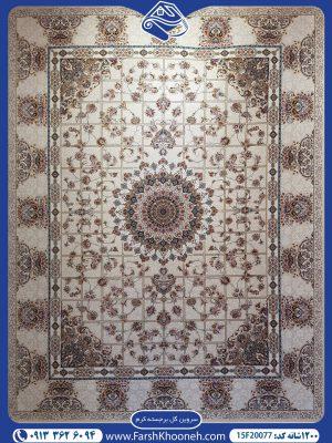 فرش ماشینی 1200 شانه طرح سروین