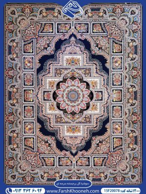فرش ماشینی 1200 شانه طرح سوشیا
