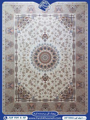 فرش ماشینی 1000 شانه طرح پیچک