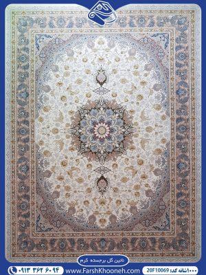 فرش ماشینی 1000 شانه طرح نائین
