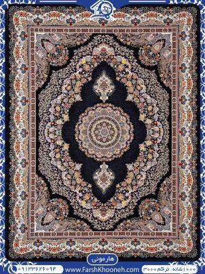 فرش ماشینی 1000 شانه طرح هارمونی