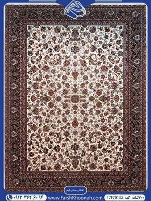فرش ماشینی 700شانه طرح افشان سنتی