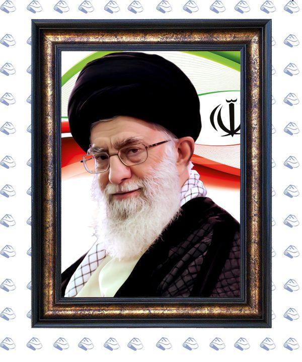 تابلو فرش طرح آیت الله خامنهای
