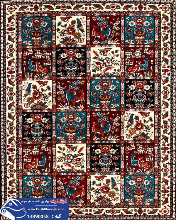 فرش گبه طرح قشقایی کد 13B90058