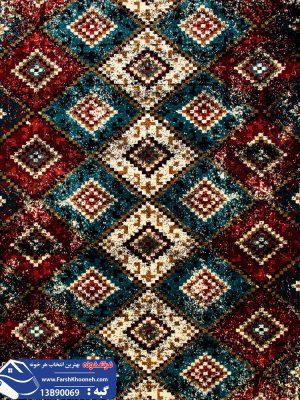 فرش گبه طرح قشقایی کد 13B90069