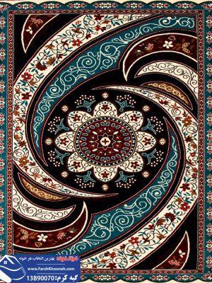 فرش گبه طرح کهکشان کد 13B90070