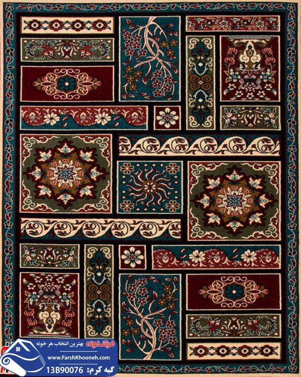 فرش گبه طرح قشقایی کد 13B90076