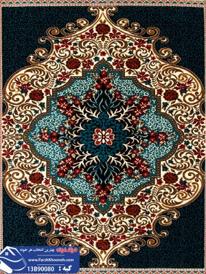 فرش گبه طرح قشقایی کد 13B90080