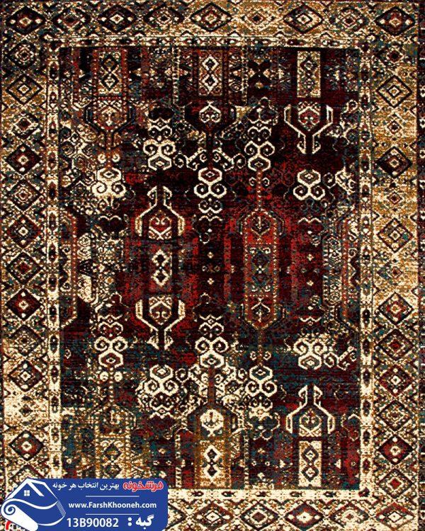 فرش گبه طرح قشقایی کد 13B90082