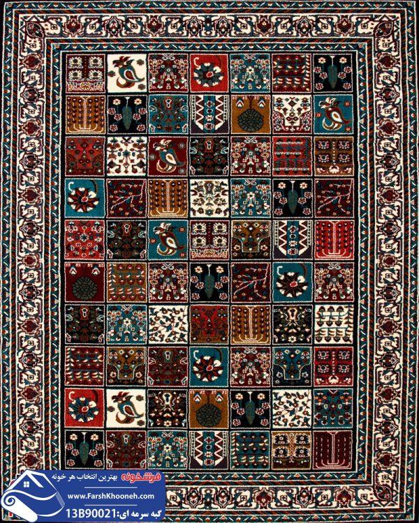 فرش گبه طرح قشقایی کد 13B90021