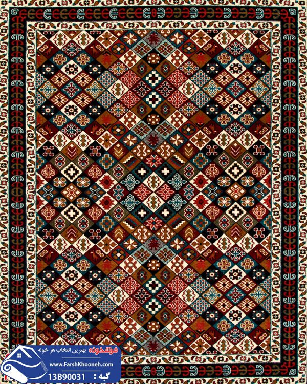 فرش گبه طرح قشقایی کد 13B90031