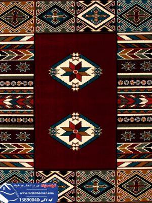 فرش گبه طرح قشقایی کد 13B90040