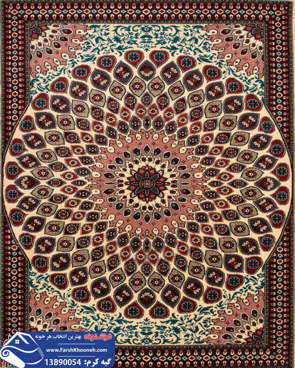 فرش گبه طرح گنبدی کد 13B954