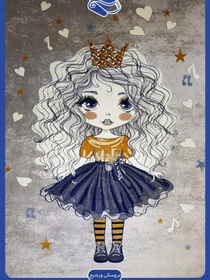 فرش عروسکی وینتیج کد 13M40606