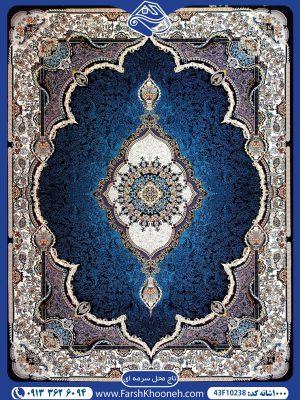 فرش ماشینی 1000 شانه طرح تاج محل