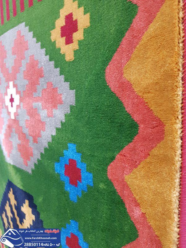 فرش گبه قشقایی طرح چند تیکه