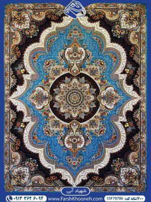 فرش ماشینی 700شانه طرح شهیاد زیبا