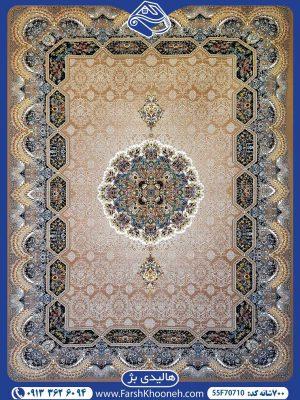 فرش ماشینی 700شانه طرح هالیدی زیبا