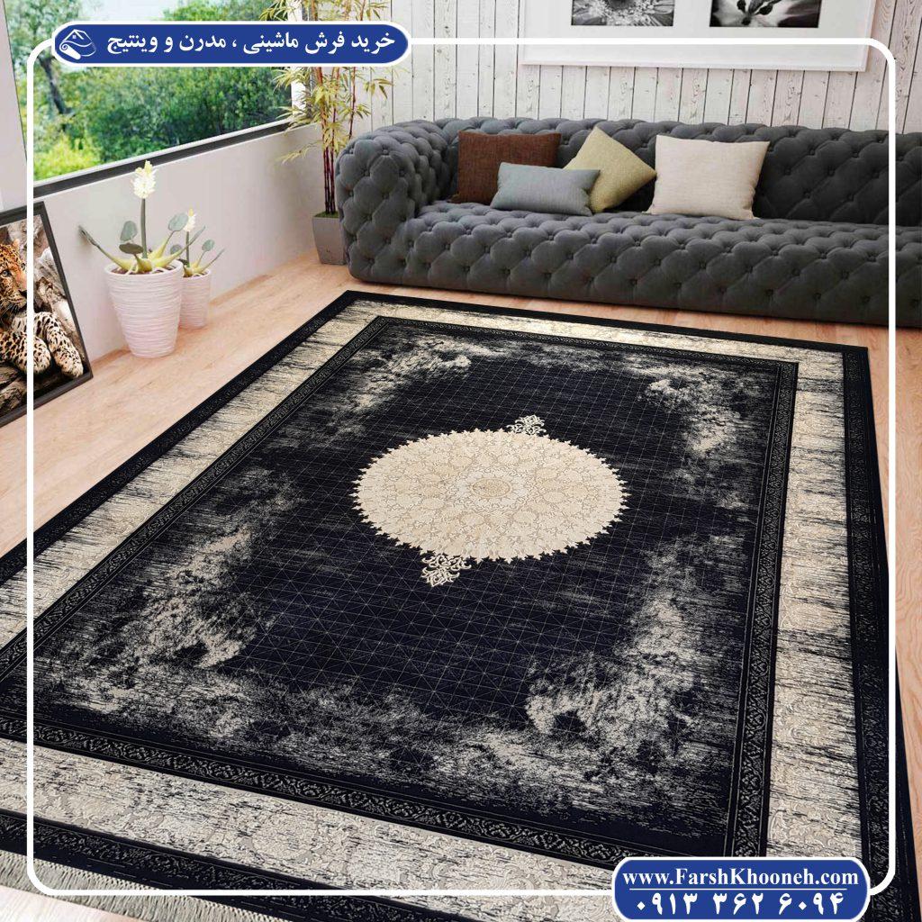 خرید فرش ماشینی - فرش وینتیج در دکوراسیون