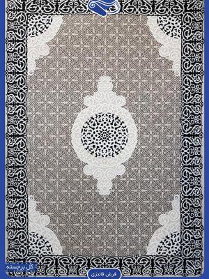 مدل فرش طوسی مدرن برای پذیرایی شیک